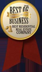 The Business Journal Award Winner - #1 Best Residential Real Estate Company